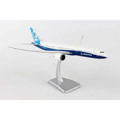 B787-9 Dreamliner Boeing House Livery 1:200 with Gear + stand