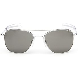 Randolph Engineering Aviator Bright Chrome Bayonet Gray Polarized AR 52 Lenses