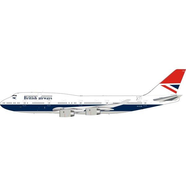 Lupa Aircraft Models B747-400 British Airways Negus Retro G-CIVB 1:200