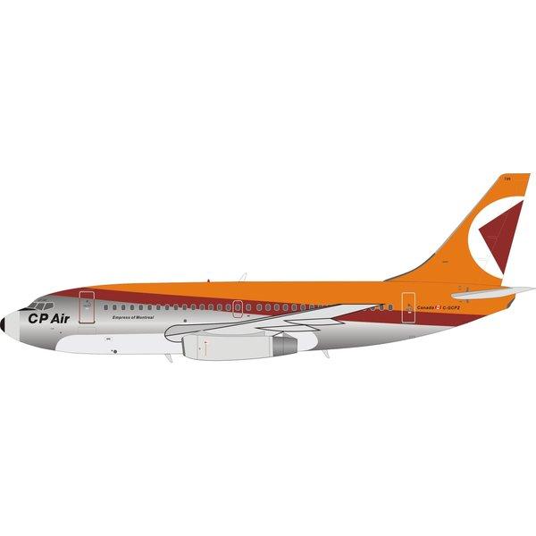 InFlight B737-200 CP Air Orange / Red Livery C-GPCZ 1:200