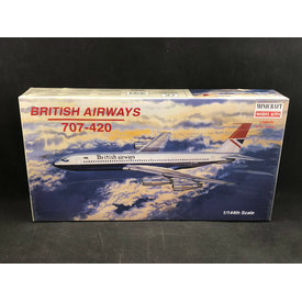 B707-420 BRITISH AIRWAYS 1:144 SCALE KIT