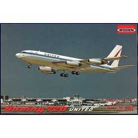 Roden Boeing B720B United Airlines 1:144 Model Kit