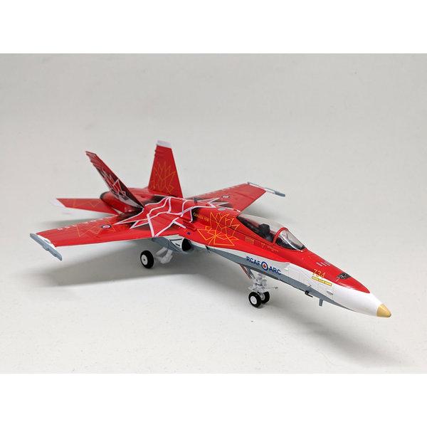 JC Wings CF188A Hornet RCAF CANADA 150 2017 Demo Team 188734 Livery 1:72 (no stand)**o/p**