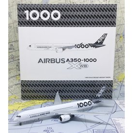 JC Wings A350-1000 Airbus House 2018 Asia Demonstration Tour F-WLXV 1:400 flaps down with Antenna