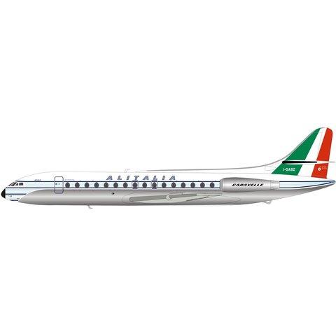Sud SE210 Caravelle Alitalia VI-N I-DABZ 1:200 polished with stand