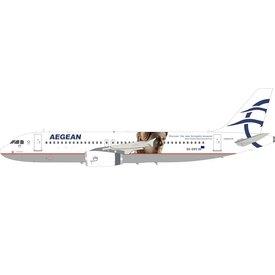 InFlight A320 Aegean Airlines Acropolis SX-DVV 1:200