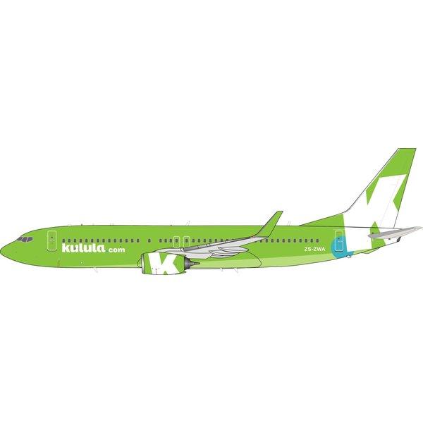 InFlight Boeing B737-800W Kulula.com ZS-ZWA 1:200