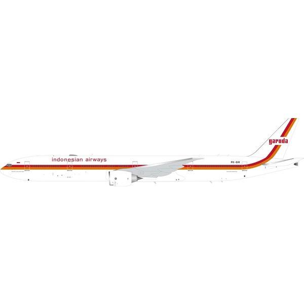 InFlight B777-300ER Garuda Indonesia Retro PK-GIK 1:200