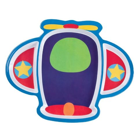 Kid's Airplane Shape Dinner Plate