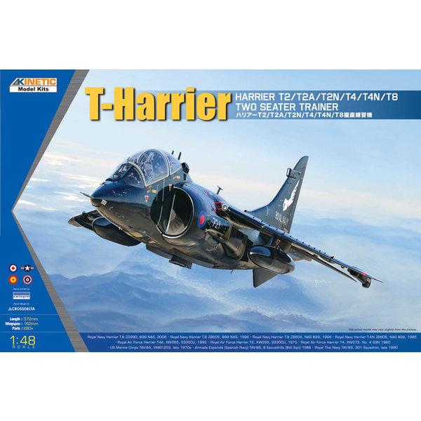 KINETIC T-Harrier T2/T2A/T2N/T4/T4N/T8 Trainer 1:48