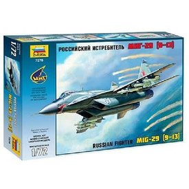 Zvesda MiG-29S (9-13) 1:72 Scale Kit