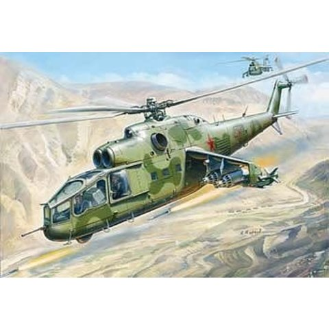 MI24A HIND SOVIET 1:72 Scale Kit