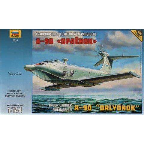A90 ORLYONON EKRANOPLAN 1:144 Scale Kit