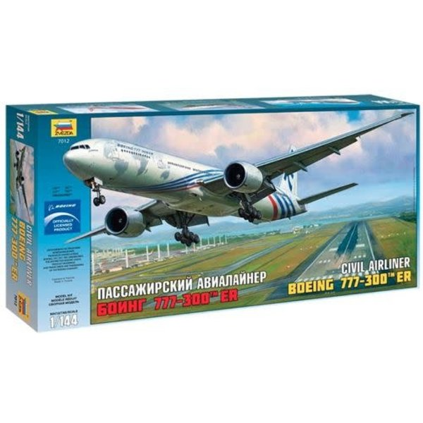 Zvesda B777-300ER BOEING HOUSE 1:144 Scale Kit