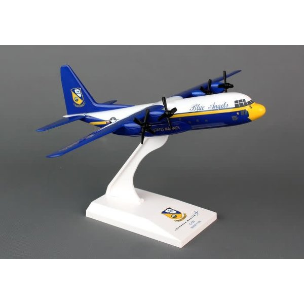 SkyMarks C130T Blue Angels Fat Albert USMC 1:150 with stand