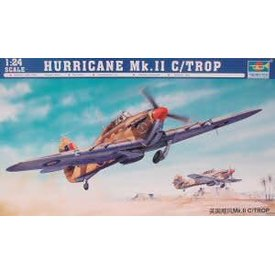 Trumpeter Model Kits HURRICANE MK11C TROP 1:24 SCALE KIT