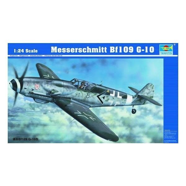 Trumpeter Model Kits BF109-G10 LATE 1:24 SCALE KIT