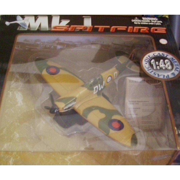 MotorMax SPITFIRE I TROP DW-D 1:48 SCALE DIECAST