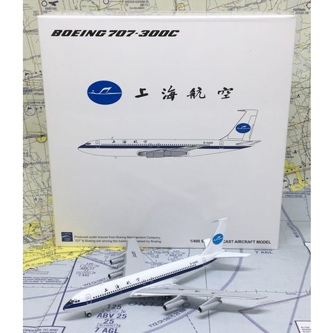 B707-300C Shanghai Airlines Old Livery B-2425 1:400