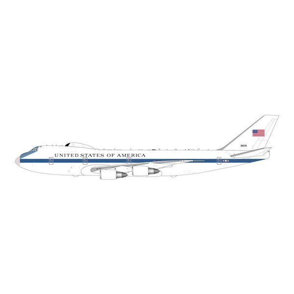 Gemini Jets Boeing E4B US Air Force 73-1676 1:400 antennae