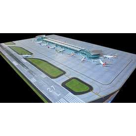 Gemini Jets New Airport Mat Set for New Terminal (GJARPTC) 1:400