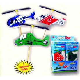 GUILLOWS Toy Helicopter