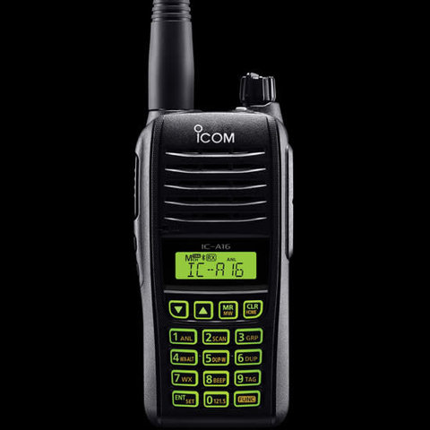 IC-A16 Transceiver handheld with Bluetooth
