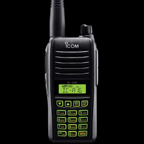 Icom IC-A16B Transceiver handheld with Bluetooth
