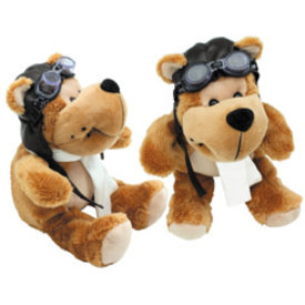 Junior Plush Aviator