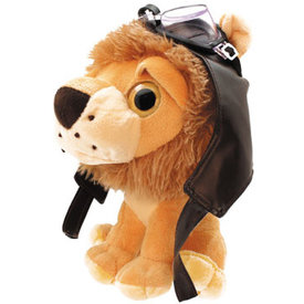 Lion Stuffed Aviator