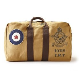 Red Canoe Brands Kit Bag RCAF Heavy Canvas Tan