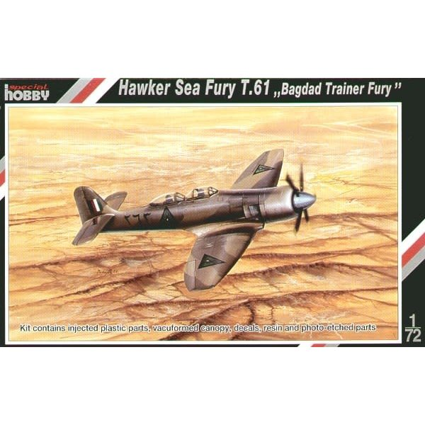 Special Hobby HAWKER SEA FURY T.61 1:72 SCALE KIT