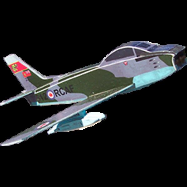 BALSA SABRE MODEL RCAF 1:100 SCALE