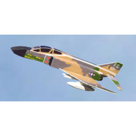 OSBORN MODELS BALSA F4C PHANTOM USAF MIG KILL 1:100