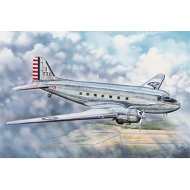Trumpeter Model Kits C47C SKYTRAIN (EX-CIVIL DC3A) 1:48 Scale Kit
