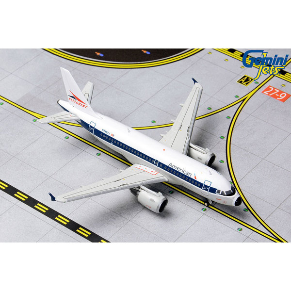 Gemini Jets A319 American Airlines Allegheny Retro Livery N745VJ 1:400