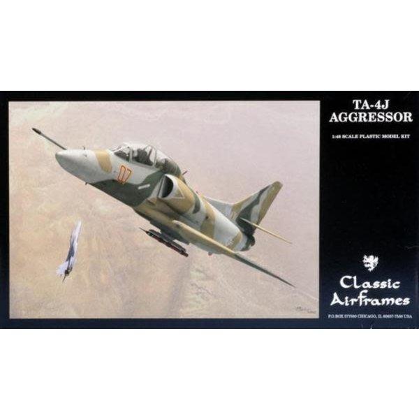 Classic Airframes TA4J SKYHAWK AGGRESSOR 1:48 SCALE KIT