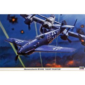 Hasegawa BF109E NIGHT FIGHTER 1:32 scale kit