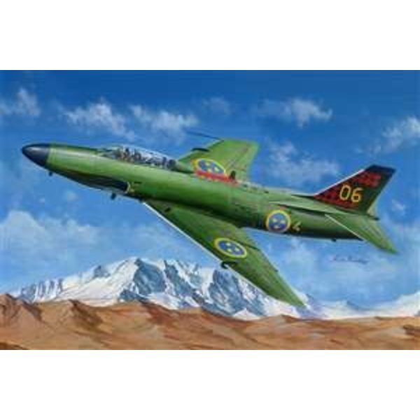 HobbyBoss SAAB J32B/E LANSEN 1:48 scale model kit