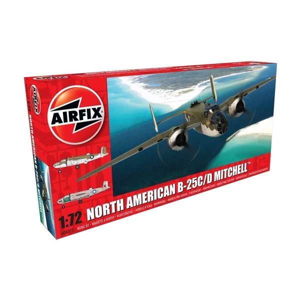 Airfix B25C/D MITCHELL 1:72 SCALE KIT NEW TOOLING