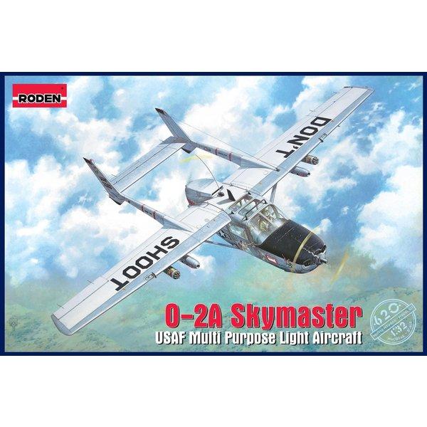 Roden Cessna O2A Skymaster 1:32 Model Kit