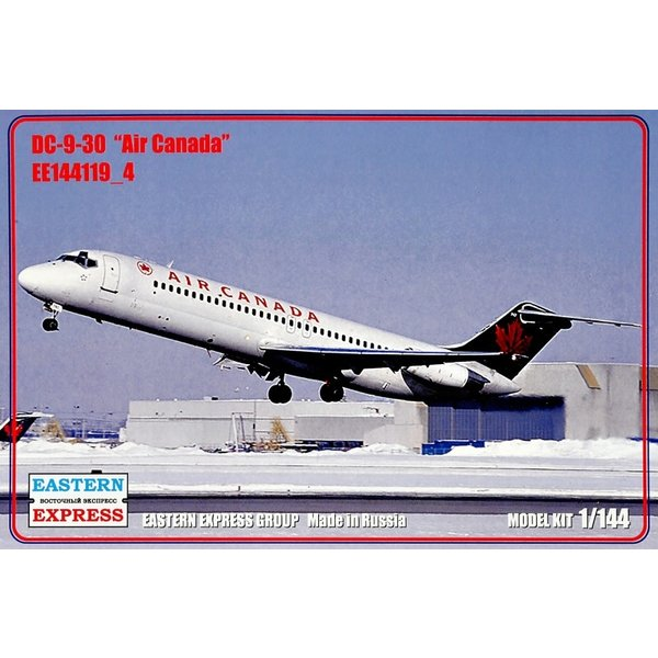 DC9-30 Air Canada Green tail 1:144 Scale Kit