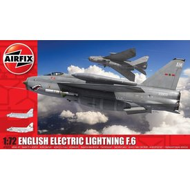 Airfix ENGLISH ELECTRIC LIGHTNING F6  1:72 Scale Kit