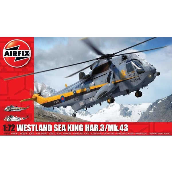 Airfix Sea King HAR3/Mk43 RAF/Norway 1:72 Scale Kit