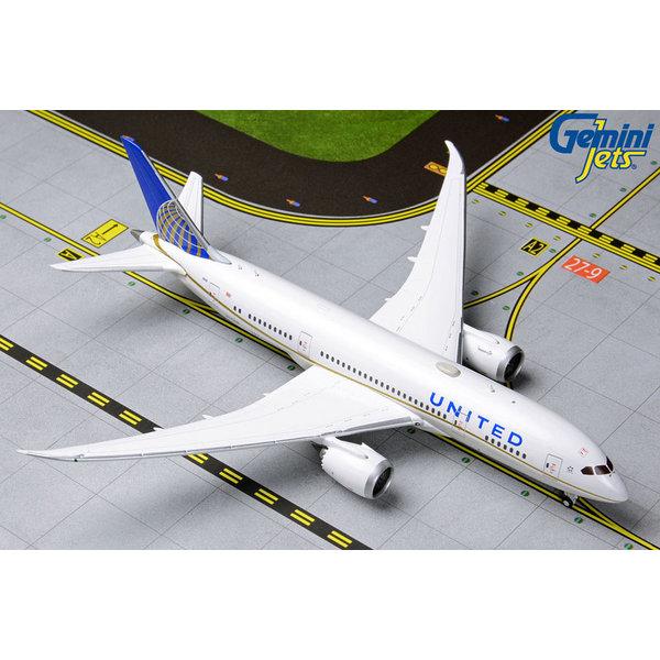 Gemini Jets B787-8 Dreamliner United 2010 Livery N27908 1:400