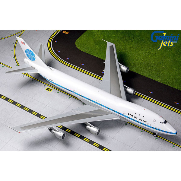 Gemini Jets B747-100 Pan Am Delivery N734PA 1:200 Polished