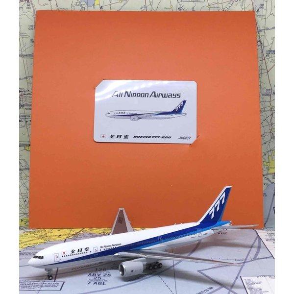 JC Wings B777-200 ANA 777 tail JA8197 1:400 (orange box) ++SALE++