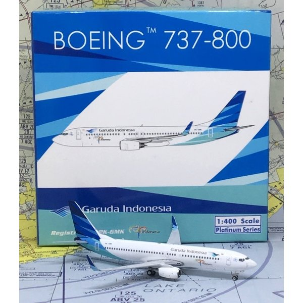 Phoenix B737-800W Garuda Visit Indonesia PK-GMK 1:400
