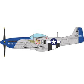 JC Wings P51D Mustang 487FS, 352FG, 8thAF HO-M LCol.John Meyer D-Day 1:72 with stand