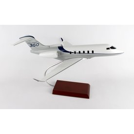 Challenger 350 Bombardier Livery Grey/Blue 1:35